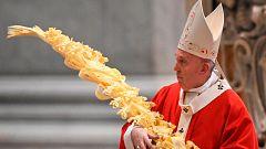 El Vaticano se adapta al confinamiento para celebrar la misa del Domingo de Ramos