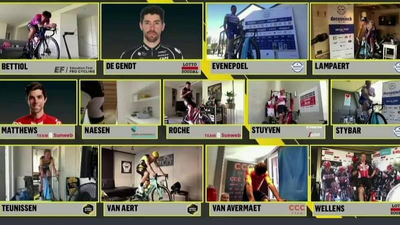 Vídeo: Llegada del resto de participantes y clasificación final