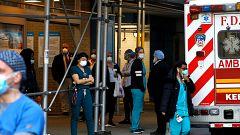 """Estados Unidos se prepara para enfrentar su """"semana más dura"""" en la crisis del coronavirus"""