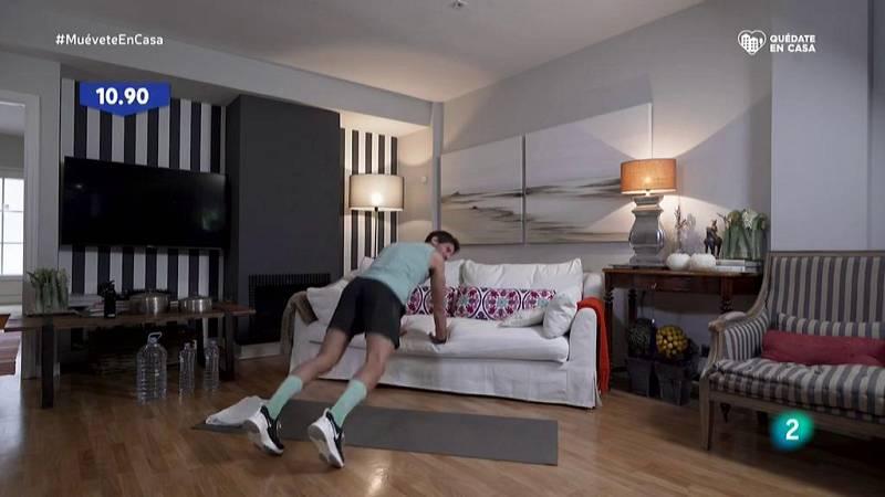 Muévete en casa - ¡Trabaja a fondo la parte superior del cuerpo!