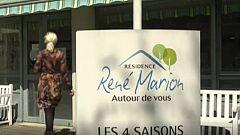 Así es el particular Telediario desde una residencia de mayores en Francia