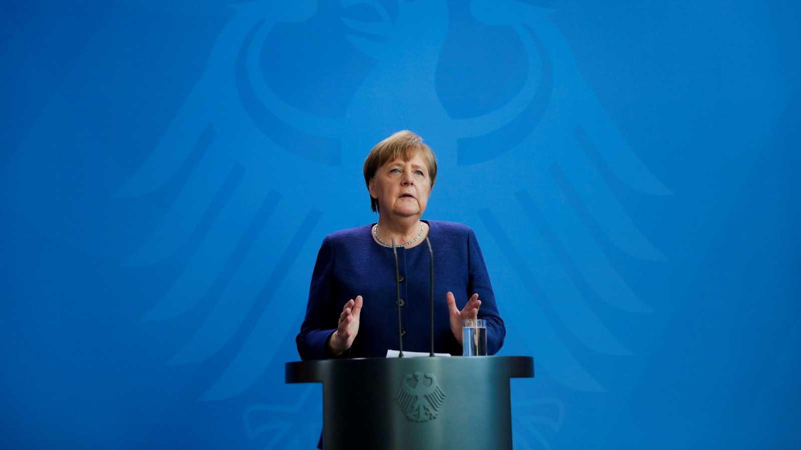 Merkel decreta una cuarentena obligatoria de dos semanas a cualquiera que regrese a Alemania