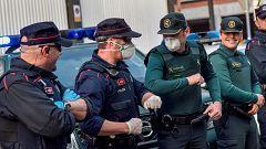 """Marlaska: """"No vamos a ser cicateros con los policías contagiados y se considerará enfermedad laboral"""""""