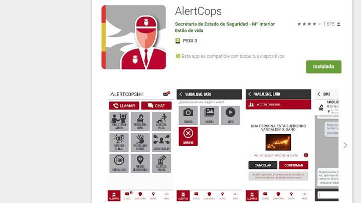 La aplicación para móviles AlertCops dará prioridad a sanitarios y víctimas de vilencia de género