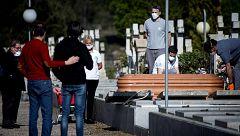 Los entierros con coronavirus en Castilla-La Mancha multiplican por 2,5 la cifra oficial de fallecidos