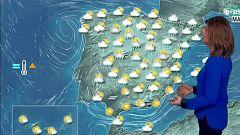Nubes y precipitaciones en el centro y tiempo más estable en el sur