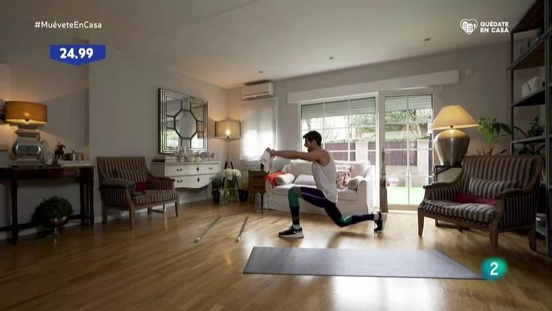Muévete en casa - ¡Circuito cardio y abdomen!