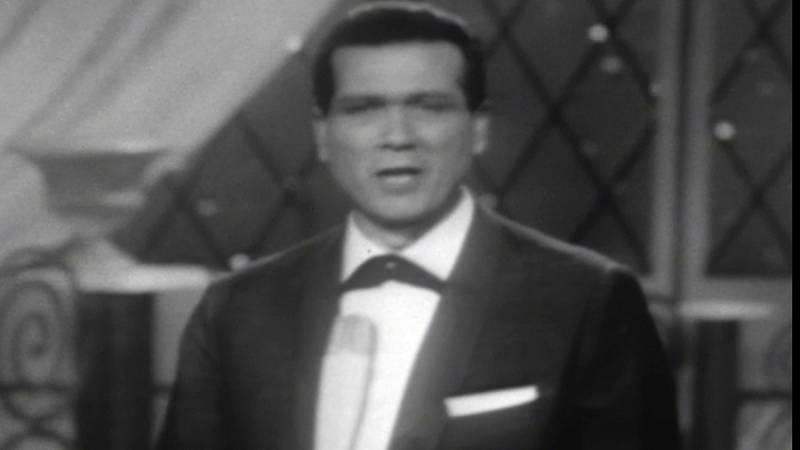 """Eurovisión 1962 - Víctor Balaguer cantó """"Llámame"""""""