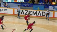 Quédate en casa con Tdp - Hockey Patines - Campeonato del mundo Femenino 2019 - Final:España-Argentina