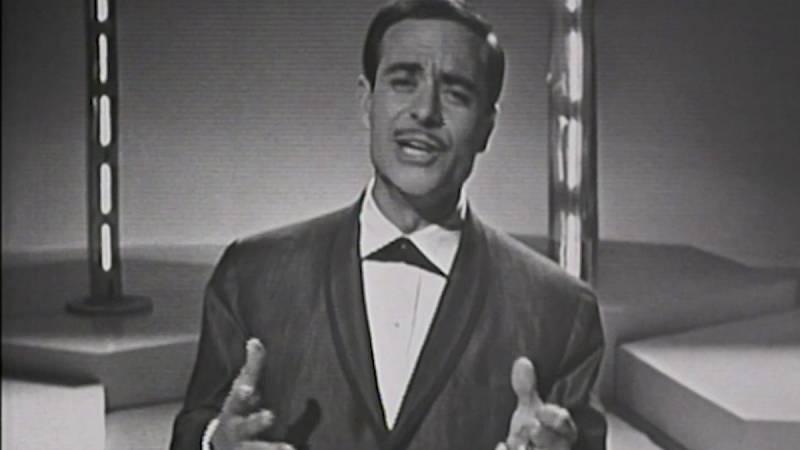 """Eurovisión 1963 - José Guardiola cantó """"Algo prodigioso"""""""