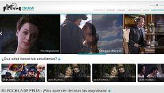 Una plataforma para aprender las materias escolares a través del cine