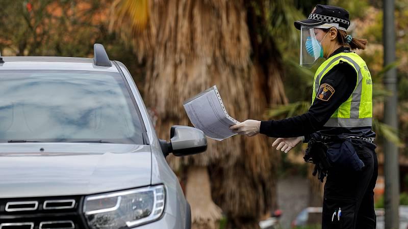 La Policía aumenta los controles en Semana Santa y detecta relajación para cumplir con el estado de alarma