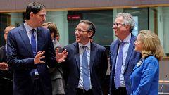 Las discrepancias entre norte y sur han prolongado la reunión del Eurogrupo toda la noche