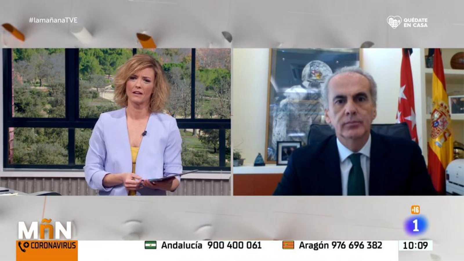 Enrique Ruiz Escudero: ''Las cifras de contagios en España han sido más elevadas de lo esperado''