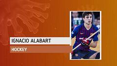 """Ignacio Alabart: """"Estoy intentando llevar una rutina diaria estricta para estar distraído"""