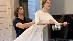 Ballet de autoaislamento: así pasa el confinamiento un grupo de bailarines rusos