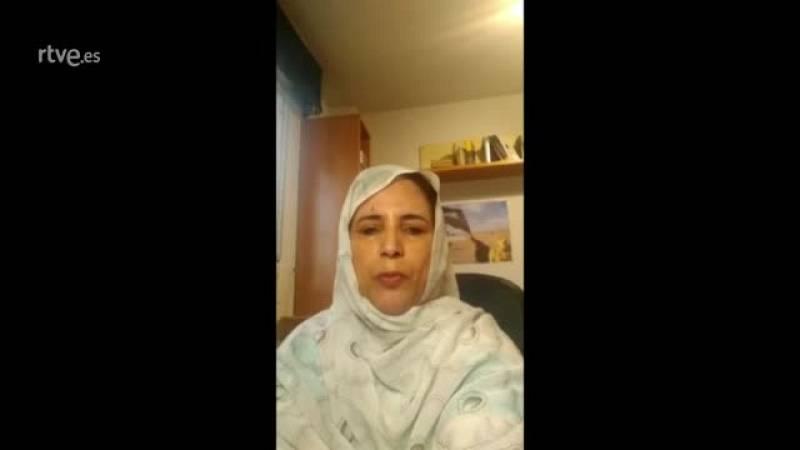 """Subdelegada del Frente Polisario: """"De por sí nuestra situación es de emergencia"""""""