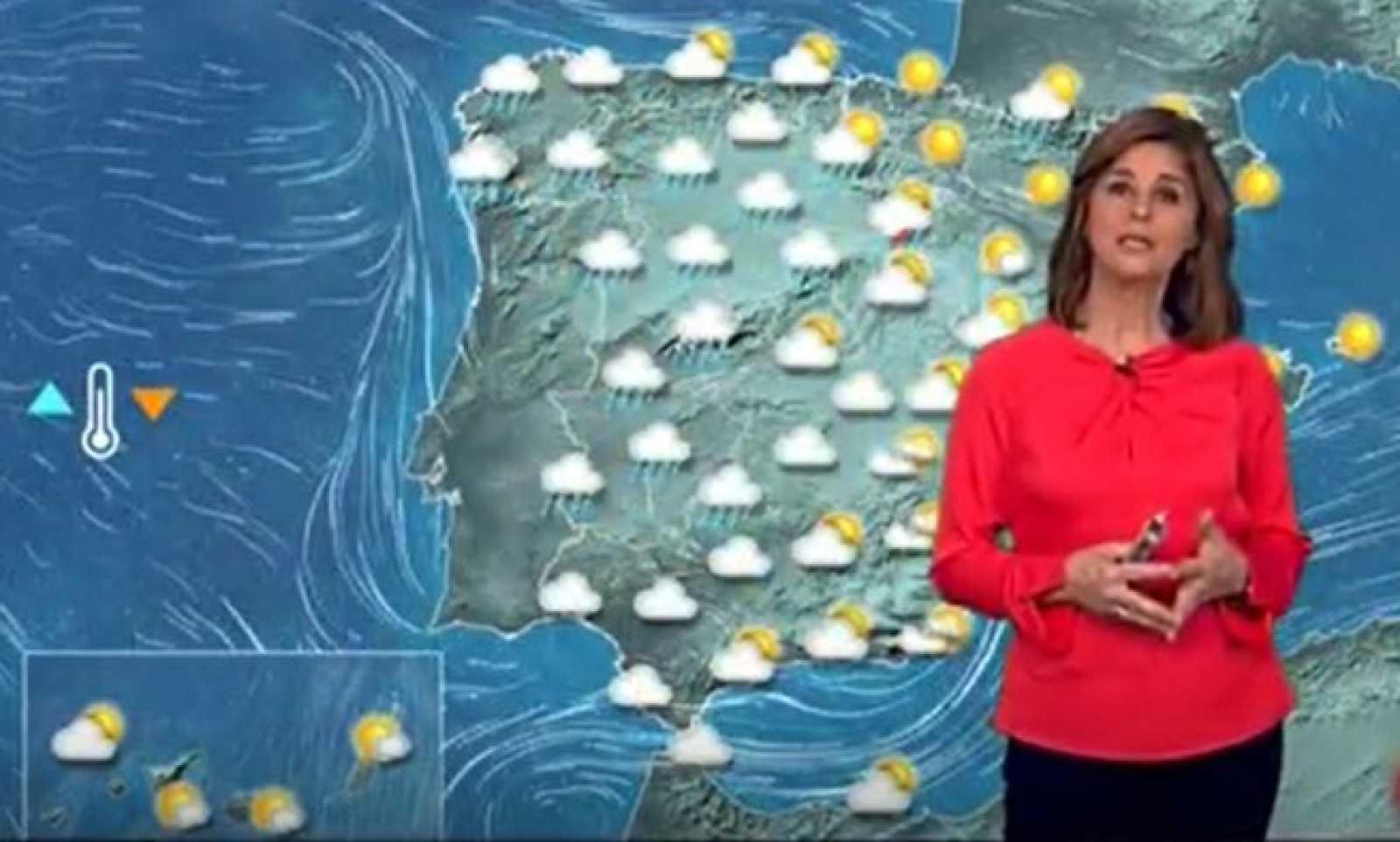 Lluvias en el extremo oeste de la península y ascenso térmico en el Cantábrico