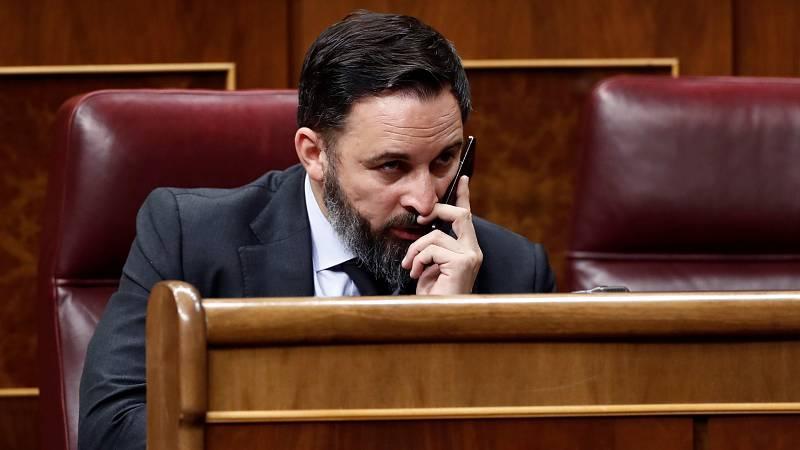 """El líder de VOX, Santiago Abascal, ha acusado al Gobierno de España de ser el """"responsable de la mayor tasa de mortalidad del coronavirus del mundo, y eso con las cifras oficiales"""", porque ha considerado que ¿la cifra de 15.000 víctimas es un bulo, s"""