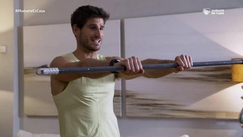 Muévete en casa - Programa 14 (cómo fortalecer abdomen y glúteos en casa) - ver ahora