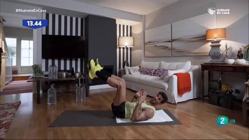 Muévete en casa - Trabaja el abdomen y los glúteos