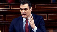 """Sánchez: """"Algunas afirmaciones de la Oposición se basan en palpables falsedades"""""""