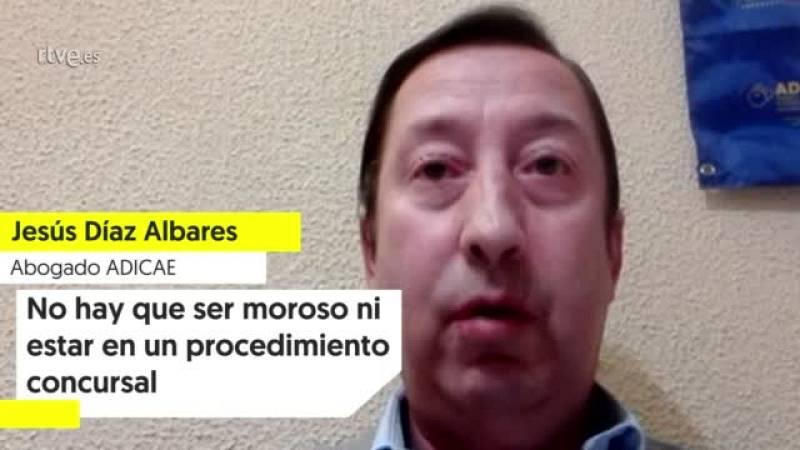 """Jesús Díaz (ADICAE): """"No hay que ser moroso ni estar en un procedimiento concursal"""""""