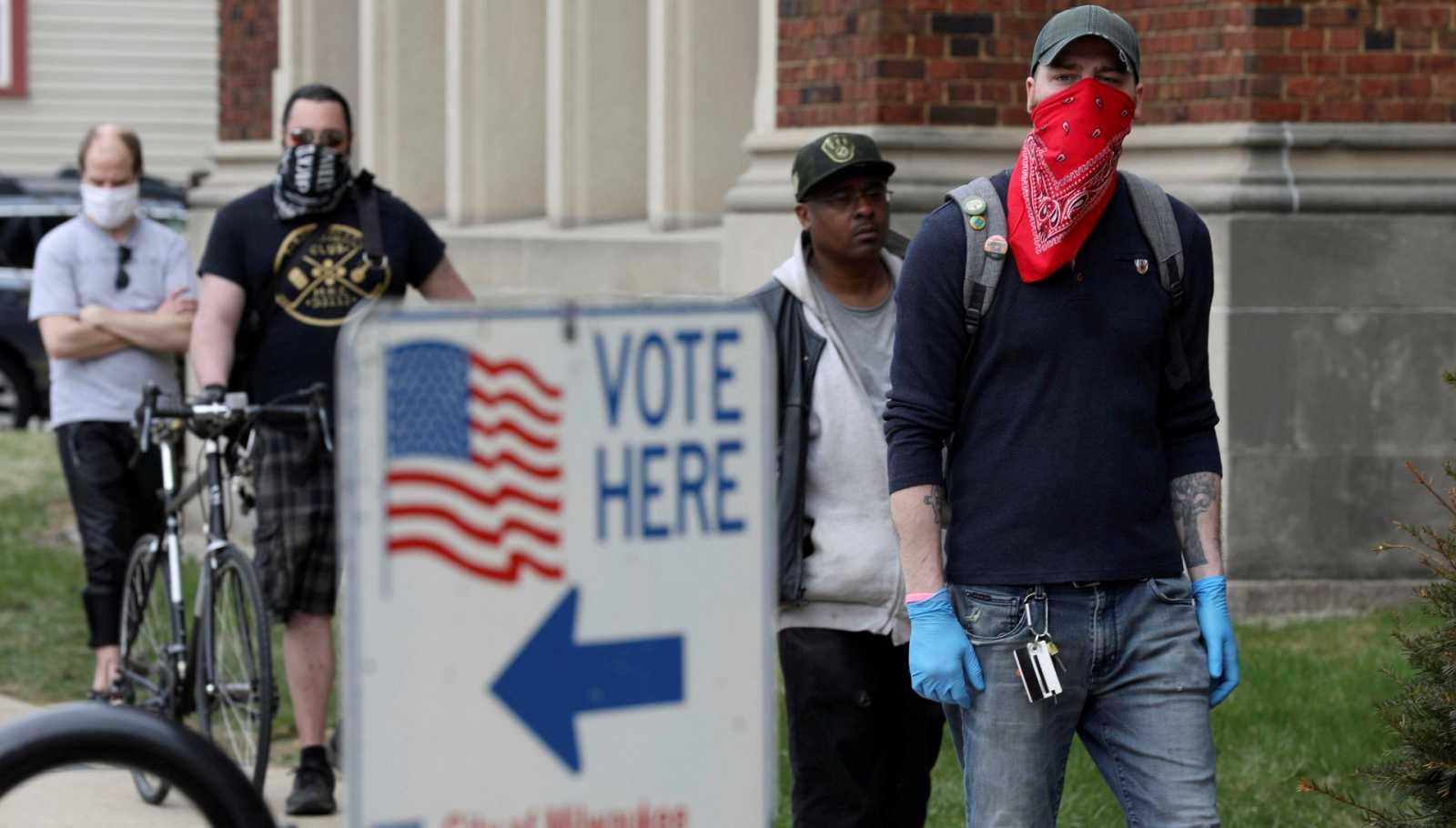 La crisis del coronavirus condiciona el voto por correo en las primarias de EE.UU.