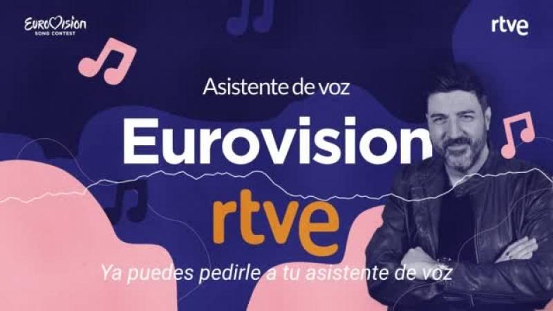 RTVE estrena su asistente de voz de Eurovision, con un trivial eurovisivo y la última hora sobre el festival.