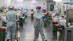 España reduce a 605 el número diario de muertos, la cifra más baja desde el 24 de marzo