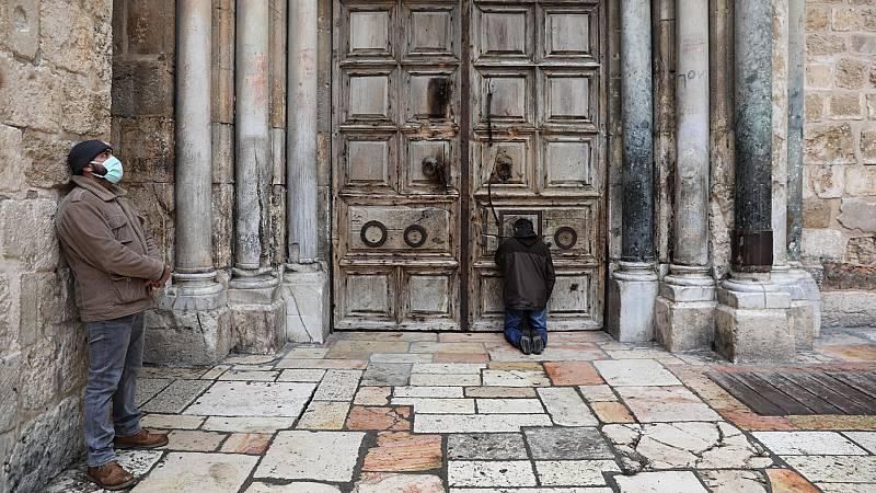 Semana Santa atípica en una Jerusalén vacía por la pandemia de coronavirus
