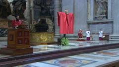 Semana Santa en RTVE - Santos Oficios. Desde Roma