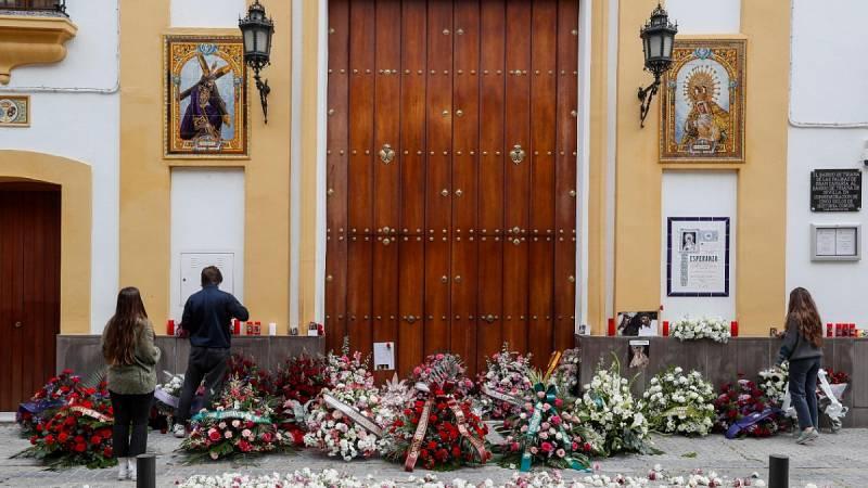 Ceremonias virtuales y hoteles vacíos marcan la Semana Santa en Sevilla