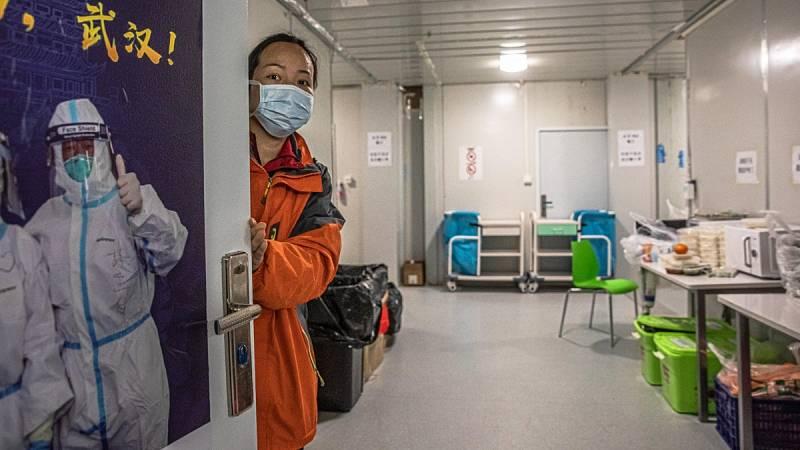 Así es el interior del hospital de campaña que se construyó en 10 días en Wuhan