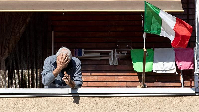 Italia sufre un ligero repunte con 619 fallecimientos en 24 horas