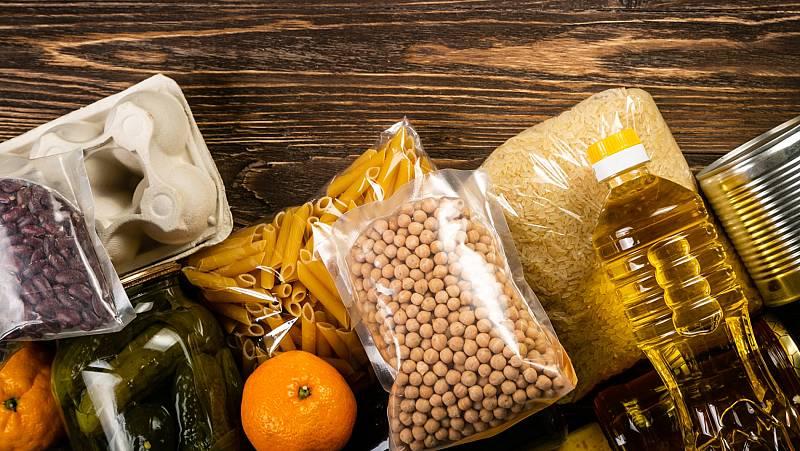 Los bancos de alimentos para familias sin recursos, a domicilio durante la pandemia de coronavirus