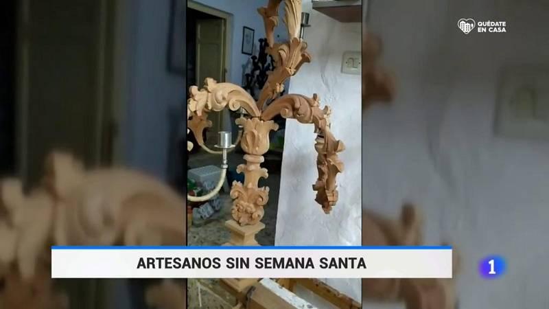 Artesanos sin Semana Santa