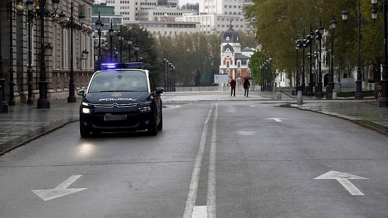 La Policía Nacional ha realizado 1.873 detenciones e impuesto 130.181 sanciones desde el inicio del estado de alarma