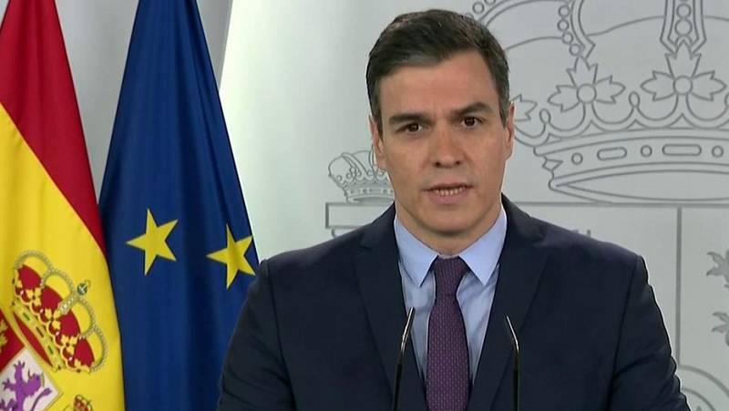 """Pedro Sánchez: """"El confinamiento general será la regla durante las próximas dos semanas"""""""