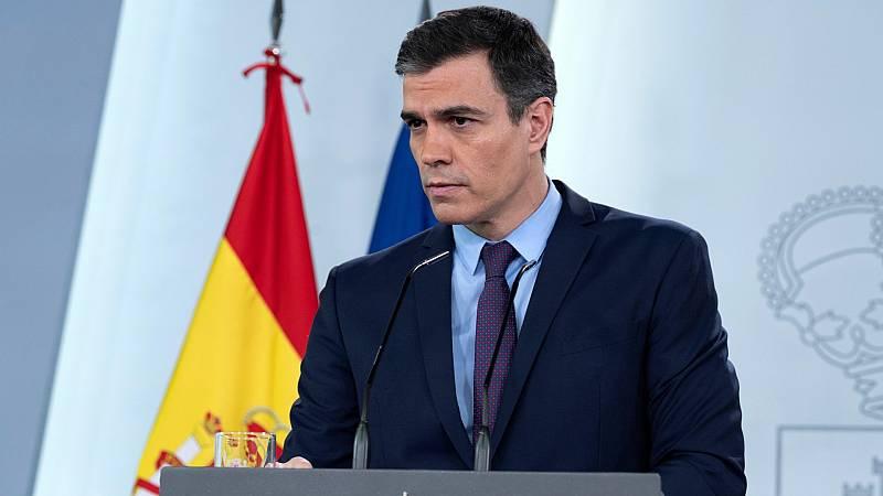 Sánchez insiste en que sigue vigente el confinamiento