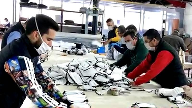 Taymory, la empresa de ropa deportiva que ahora fabrica mascarillas contra el coronavirus