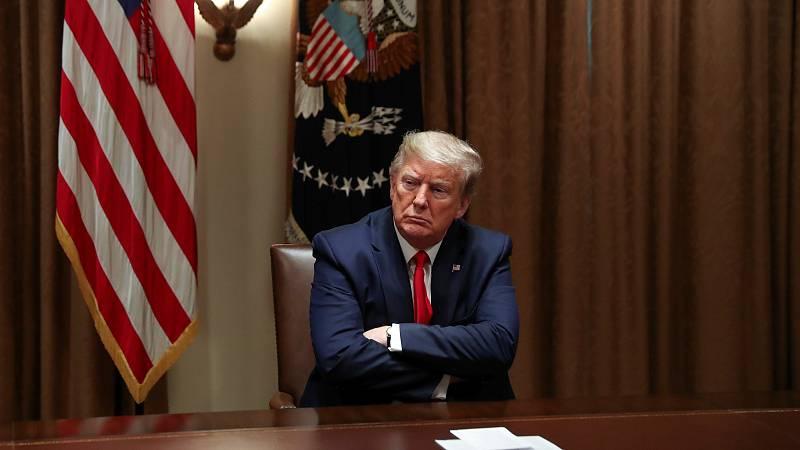 Duelo en EE.UU. entre Trump y los gobernadores por quién tiene el poder de reabrir la economía