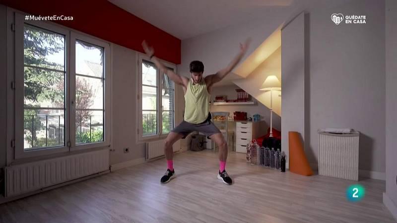 Muévete en casa - ¡Activa hombros, espalda, abdomen y piernas!