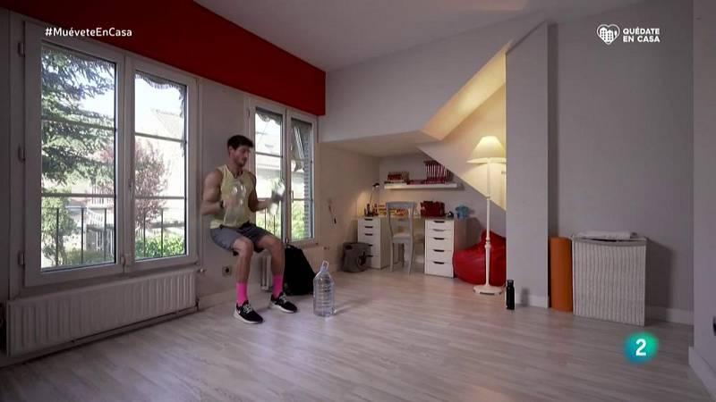 Muévete en casa - ¡Fortalece brazos, hombros y el core abdominal!