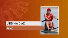 """Virginia Díaz: """"He cambiado el agua por el ergómetro"""""""