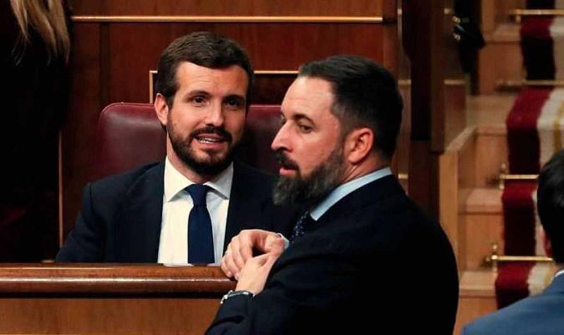Casado retrasa la reunión con Sánchez a la semana que viene y Abascal vuelve a rechazar la llamada