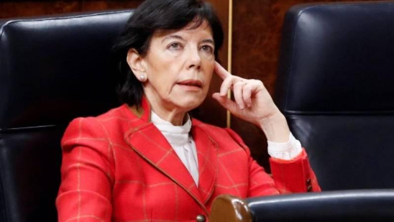 """Isabel Celaá: """"Ningún alumno perderá el curso escolar por el Covid-19"""""""
