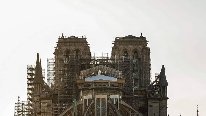Notre Dame vuelve a tañer su campana un año después del incendio