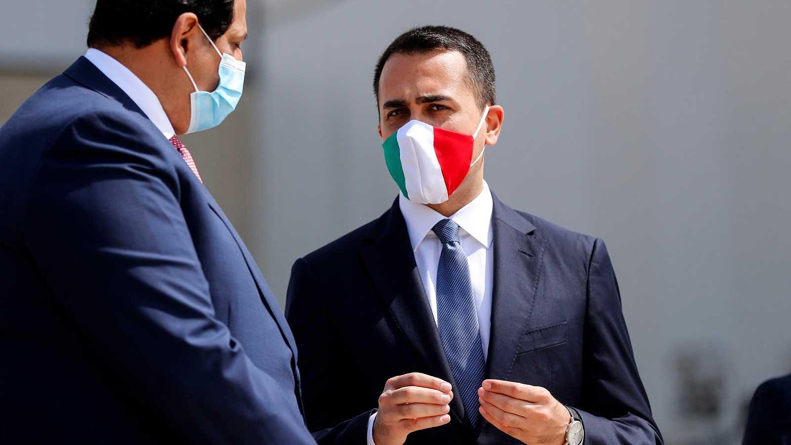 """El ministro de Exteriores de Italia afirma a TVE que """"la solidaridad es la clave para vencer el desafío"""" del coronavirus a Europa"""
