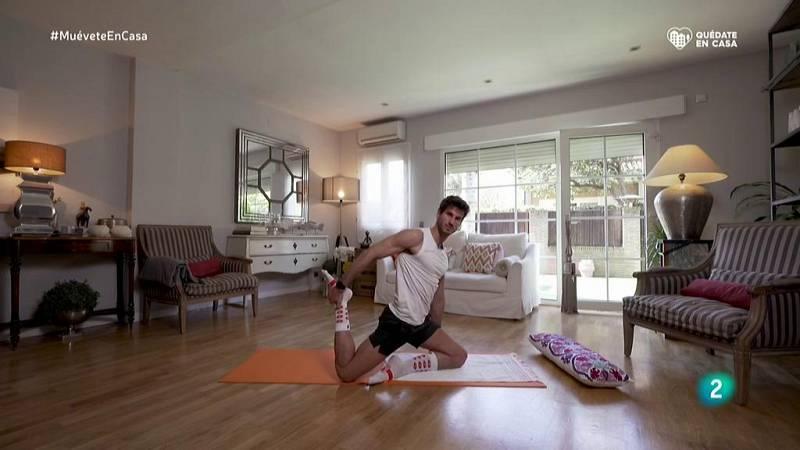Muévete en casa - Yoga y pilates para trabajar el equilibrio y la flexibilidad